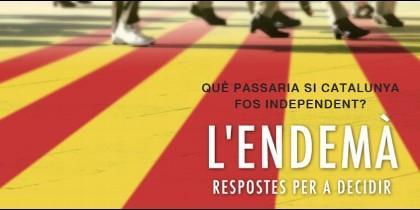 Poster de la pelicula  L'Endemà, El Día Después.