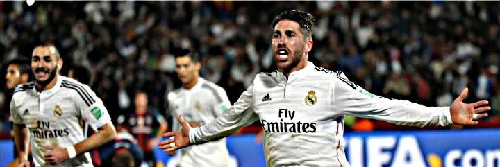 Sergio Ramos marcó de cabeza el gol que abrió la lata en Marrakech.