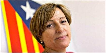 La independentista catalana Carmer Forcadell, ANC.