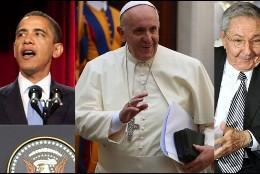 Obama, Papa, Raul
