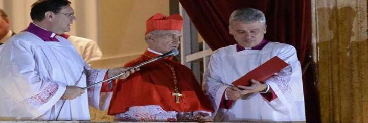 El cardenal Tauran en el Habemus Papam