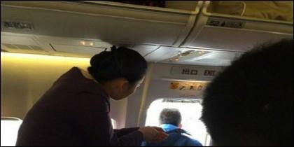 El pasajero 'se va'