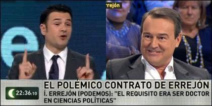 Iñaki López y Agustín Conde.