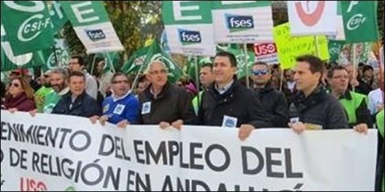 Manifestación en Sevilla