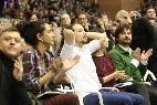 Pablo Iglesias en el mitin de Podemos en Cataluña..
