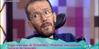 Javeir Ruiz y Pablo Echenique.