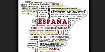 España, PIB, economía, Ibex35, paro y prima de riesgo.