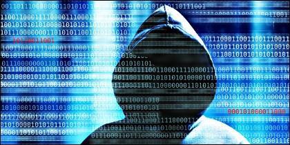 Hacker, internet, contraseña y derechos.