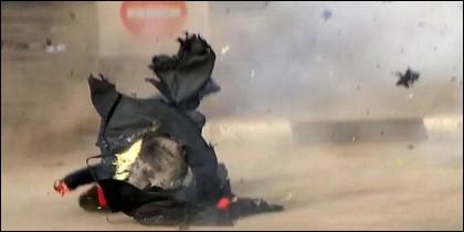 Bomba en Egipto