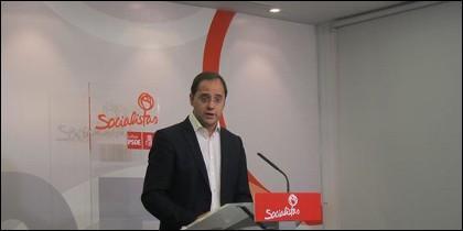 César Luena, Secretario de Organización del PSOE