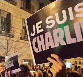 Protestas contra el atentado en París