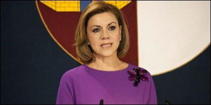 La líder del PP manchego.