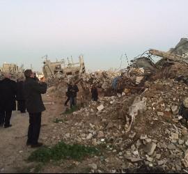 Monseñor Vives, en Gaza