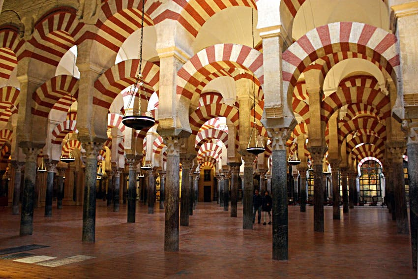 Home literatura medieval christian islamic and for Interior mezquita de cordoba