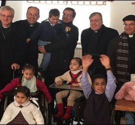 Obispos en Gaza