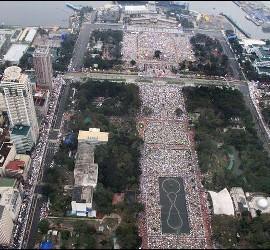 Misal del Papa en Manila