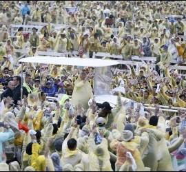 7 millones de personas con el Papa en el Parque Ritzal