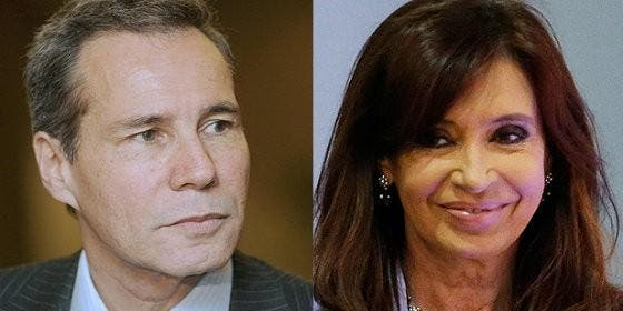 Nisman y Cristina Fernández de Kirchner