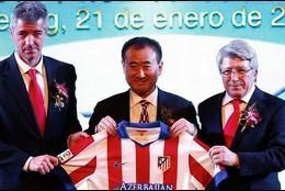 El nuevo accionista asiático del Atlético de Madrid.