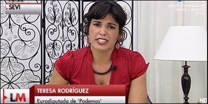 Rodríguez, eurodiputada de Podemos.