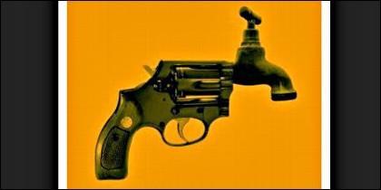 Un revólver raro, raro, raro...