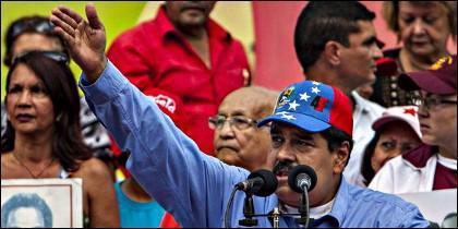 El presidente de Venezuela, cada día peor.