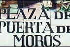 La placa de cerámica de la Plaza de los moros