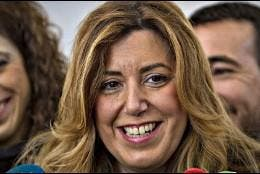 La presidenta andaluza, Susana Díaz.