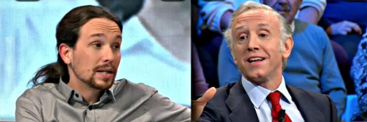 En la bronca entre Pablo Iglesias y Eduardo Inda en 'laSextaNoche' el periodista ganó a los puntos.