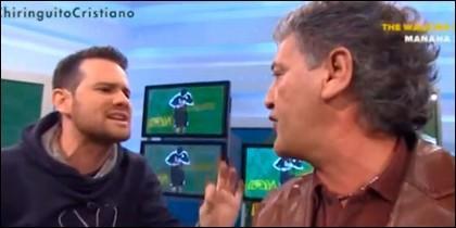 Quim Domènech y Rafa Guerrero.