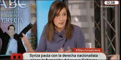 Duda del programa electoral de Syriza.