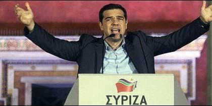 Tsipras, ganador en Grecia.
