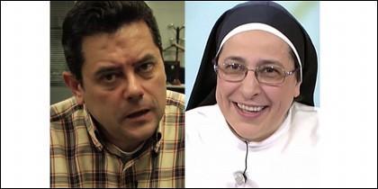 El periodista de AS crucificó a la monja.