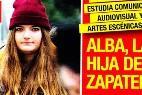 Alba, la hija de Zapatero.