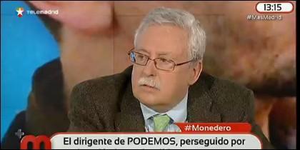 El expresidente de la Comunidad de Madrid.