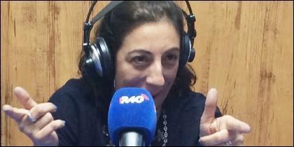 María Frisa en 'Rojo y Negro'.