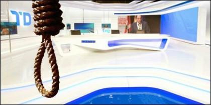 Amenazas mafiosas en los informativos de TVE.