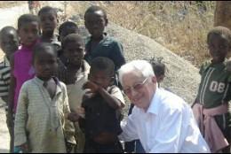 El padre Angel, en Etiopía