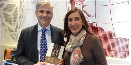 Alfonso Basallo y Teresa Díez.