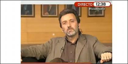 El candidato de IU a Madrid.