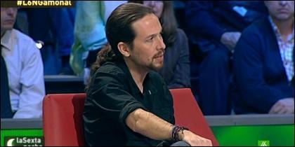 Pablo Iglesias, en su televisión amiga.