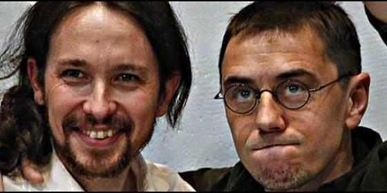 Pablo Iglesias y Juan Carlos Monedero no han explicado ni aclarado nada sobre sus chanchullos y los de Podemos.