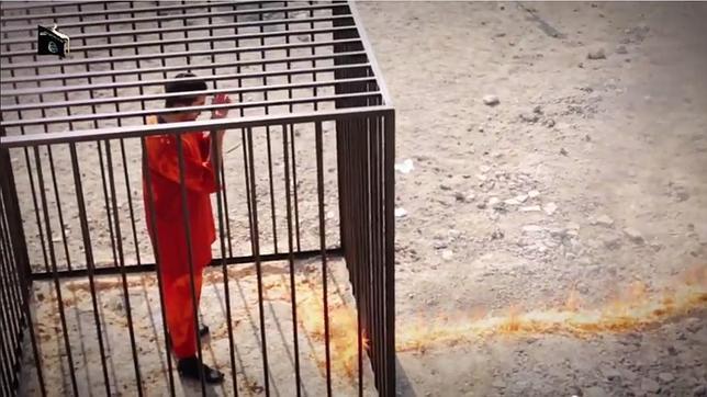 Che cosa stai pensando adesso n° 3 - Pagina 4 El-momento-en-que-elo-fuego-llega-a-la-jaula-donde-estaba-encerrado-el-piloto-jordano-moaz-al-kasasbeh