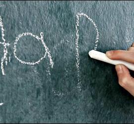Escuela, aprender, escribir, letras y palabras.