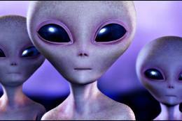 Extraterrestres procedentes de otros planetas del Universo.