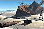 Un barco en lecho seco del Mar de Aral.
