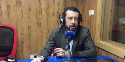 El periodista de El Confidencial.