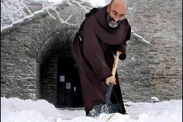 El franciscano detenido