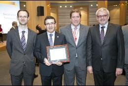 Concesión del Premio Europeo a San Juan de Dios