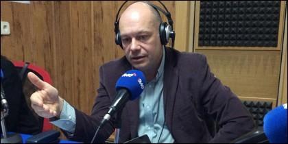 Gabriel Sanz, periodista de ABC.